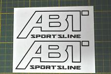 STICKERS AUDI ABT /FUN/ SPORT /MOTORSPORT 45x120mm