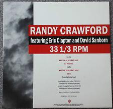 "Randy Crawford....Knockin' On Heavens Door Promotional 12"" Vinyl Single"