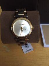 Michael Kors Original MK4314 Women's Delray Gold Dial Tortoise Acetate Watch