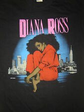 Vintage Concert T-Shirt DIANA ROSS 84 NEVER WORN  NEVER WASHED  ALL FOR ONE