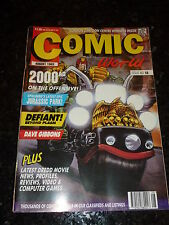 COMIC WORLD / COLLECTOR - No 18 - Date 08/1993 - UK Comic Magazine