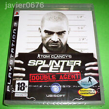 SPLINTER CELL DOUBLE AGENT NUEVO Y PRECINTADO PAL ESPAÑA PLAYSTATION 3