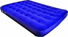 Highlander Sleepeze Swift Double Air Bed with BUILT in PUMP Inflatable Camping