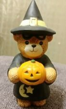 Enesco Lucy and Me 1982 Halloween Witch Bear