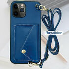 Coin purse phone case for iphone12/11,Royal Blue