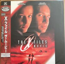 Laserdisc X-Files The Movie Japanese With OBI