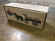 1990 ERTL #9563 AMOCO Horse & Tank Wagon Diecast Bank Car NEW NRFB 1:24