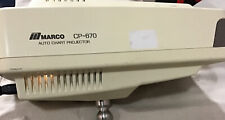 Marco Cp 670 Medical Optometry Acuity Auto Eye Chart Projectorparts Only