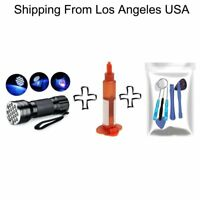 Liquid Optical Adhesive UV Glue Tools Kit Light For Cell phone LCD Glass Repair