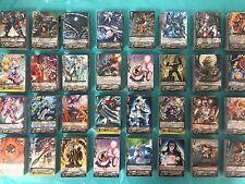 Baraja Cardfight! Vanguard tarjetas 100 tarjeta Lote Colección CFV Garantizado R/RR/RRR/sp/Gr