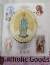 Our Lady of the Highway - Wooden - Auto Visor Clip -  USA made