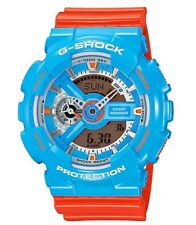 Casio G Shock * GA110NC-2A Anadigi Gloss Blue Orange Gshock Watch COD PayPal