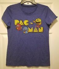 New Pac-Man Arcade Logo Girls Juniors Size Medium Gaming T-shirt