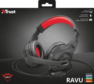 Cuffie Auricolare microfono controllo volume per PS4 PC smartphone tablet TRUST
