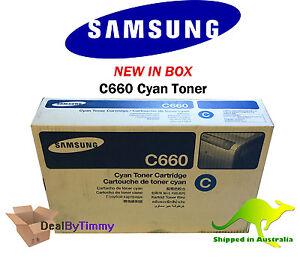 Genuine Samsung C660 [CLP-C660A] Black Toner New in Box Free Shipping