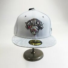 New Era 59fifty 100% authentic Size 7-1/2 fitted Hat NBA gray New York Knicks