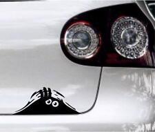 peeking monster funny car,  bike window STICKER DECAL VAN CAR COLOUR DUB JDM