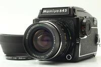 【NEAR MINT+++ w/ Hood】 Mamiya M645 1000s C 55mm f/2.8 Waist Level Finder JAPAN
