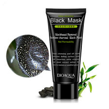 Natural charcoal black head facial bamboo black mask for face deep cleansing