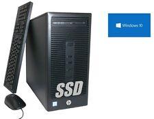 HP PC ~ Dual-Core ~ 256GB SSD + 1000GB ~ 16GB RAM WLAN DVD Brenner Windows10 Pro
