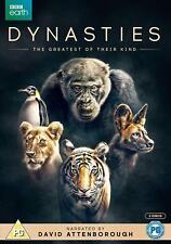 Dynasties David Attenborough DVD R4 New release  In Stock