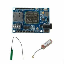 DC 5-9V STM32 51MCU A7 GSM GPRS GPS 3 In 1 Shield Universal Module For Arduino