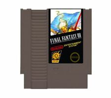 Final Fantasy III  - Nintendo NES Game