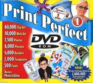 Cosmi Print Perfect 60K in Pics alone on DVD (10x CD)