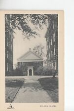 Holden Chapel Harvard University Cambridge Mass MA   The Maynards of Waban