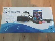 Sony PlayStation VR Bundle mit Brille, Kamera, Motion Controller, VR Worlds, OVP