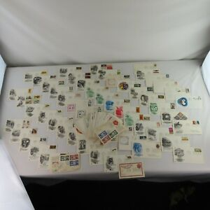 US First Day of Issue Lot Covers Stamps Large Lot Estate Find