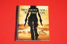 2007 Resident Evil Extinction Press Kit Great Condition