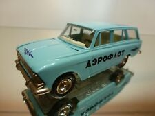 USSR CCCP MOSKVITCH 426 AEROFLOT - BLUE 1:43 - VERY GOOD CONDITION
