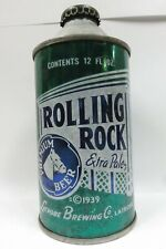 Sweet Rolling Rock Cone Top Beer Can - Usbc 182-8