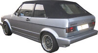 VW Golf 1 Capot Tissu Noir Roadster Cabriolet Top Qualité en Allemagne