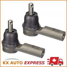 2X Front Outer Steering Tie Rod End for 2005-2015 Toyota Tacoma RWD & Base Model