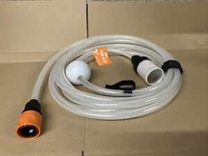 Worx WG630e Collection Hose For Bucket Cordless Hydroshot HOSE ONLY NEW