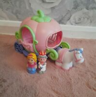 Happyland ELC Magical Pumpkin Princess Fantasy Carriage With Sounds