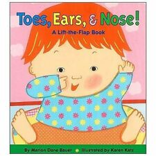 Toes, Ears, & Nose! A Lift-the-Flap Book-ExLibrary