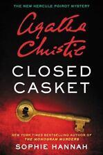 Hercule Poirot Mysteries: Closed Casket-Sophie Hannah-NOT AN EBOOK-HC/DJ