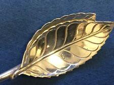 New ListingTiffany & Co. Sterling Silver Leaf Tea Straw Spoon