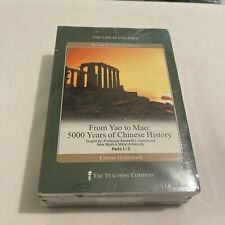 From Yao to Mao 5000 Years of Chinese History The Great Courses DVDs Book NEW