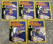 Vintage Dick Tracy Clip-On Magnets (Lot of 5) Novelty Toy Playmates 1990