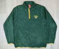 Womens Vintage NFL Packers Green Sweatshirt Fleece Size L