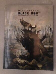 Dave McKean BLACK DOG The Dreams of Paul Nash SC Dark Horse Comics Sandman Cages