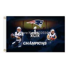 XLIX Tom Brady New England Patriots Flag