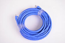 Ultra 50' Cat 6 Network Cable, Blue