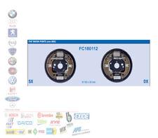 KIT GANASCE MASSE FRENO POSTERIORI FIAT PUNTO 1.2 DAL 1999 CON ABS FC180112