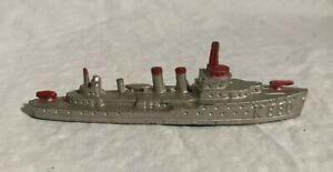 Tootsietoy Diecast Destroyer Vintage US Navy Toy