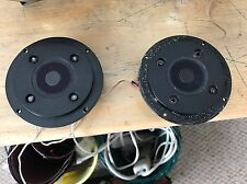 """Pair of Philips 1"""" Dome Tweeters AD 0161/T8, 8 Ohm"""